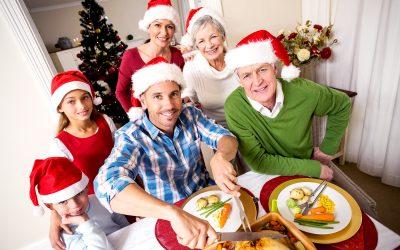 Alimentación saludable durante las fiestas