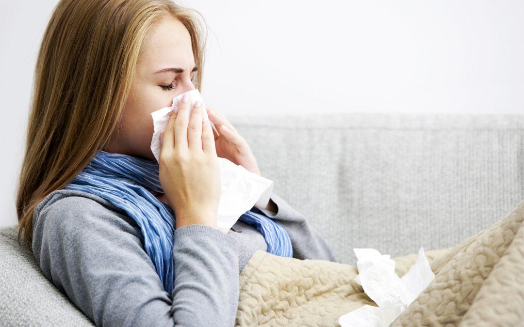 Infecciones virales: Resfríos y Gripe